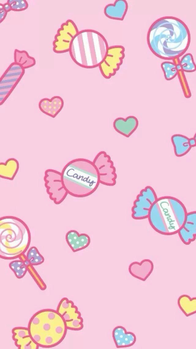 Wallpaper Candy Background Kawaii Wallpaper Candy Drawing