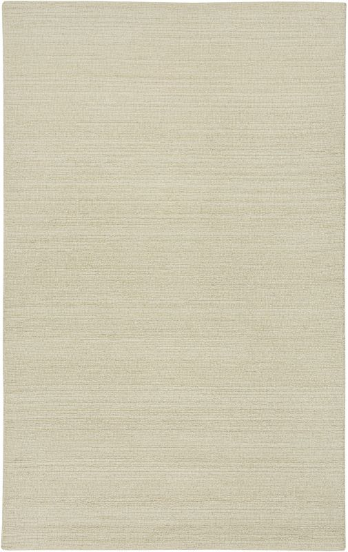 Rizzy Home CT1357 Country Hand-Tufted New Zealand Wool Rug White 3 x 5 Home Decor Rugs Rugs