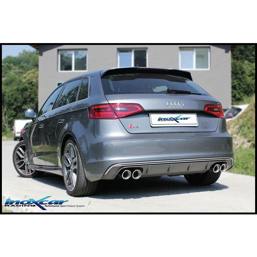 Audi S3 Type 8v 2 0 Tfsi 300cv Sportback Inoxcar Racing Tuning Audi Audis3 Audi