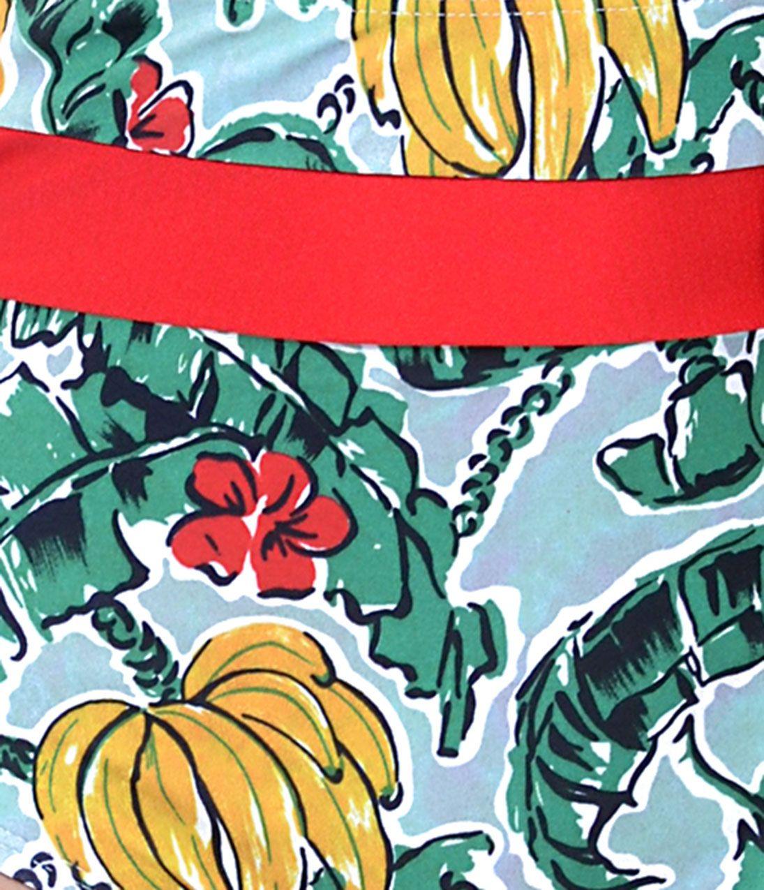 Banana Print Marley Bikini Top