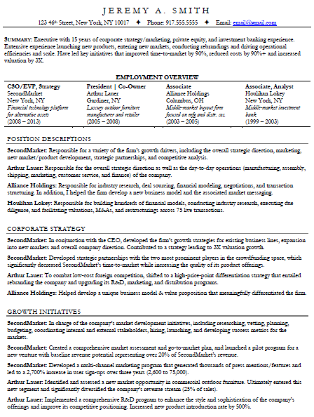 SkillsBased Resume  Rez