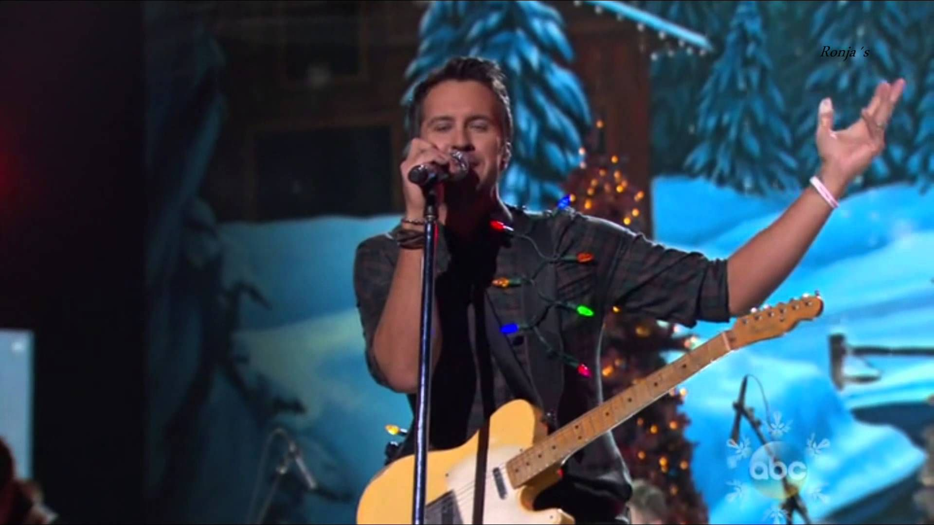 "Luke Bryan - ""Run Run Rudolph"" (album NOW That's What I Call Country Christmas, new on 154)"