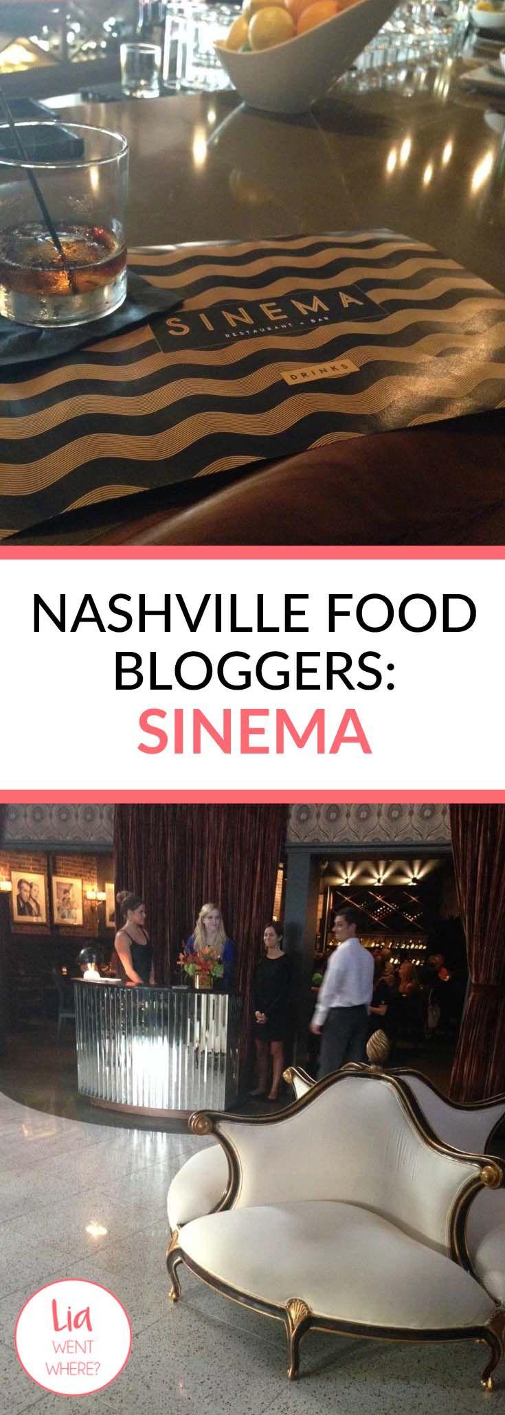 Nashville food bloggers sinema nashville nashville food