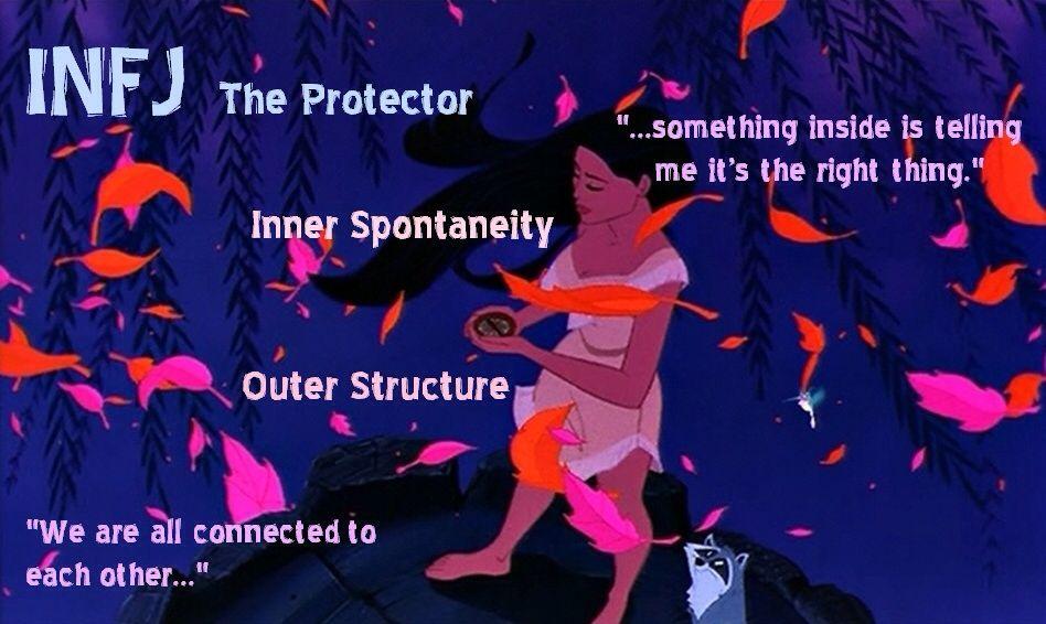 INFJ Protector - Pocahontas