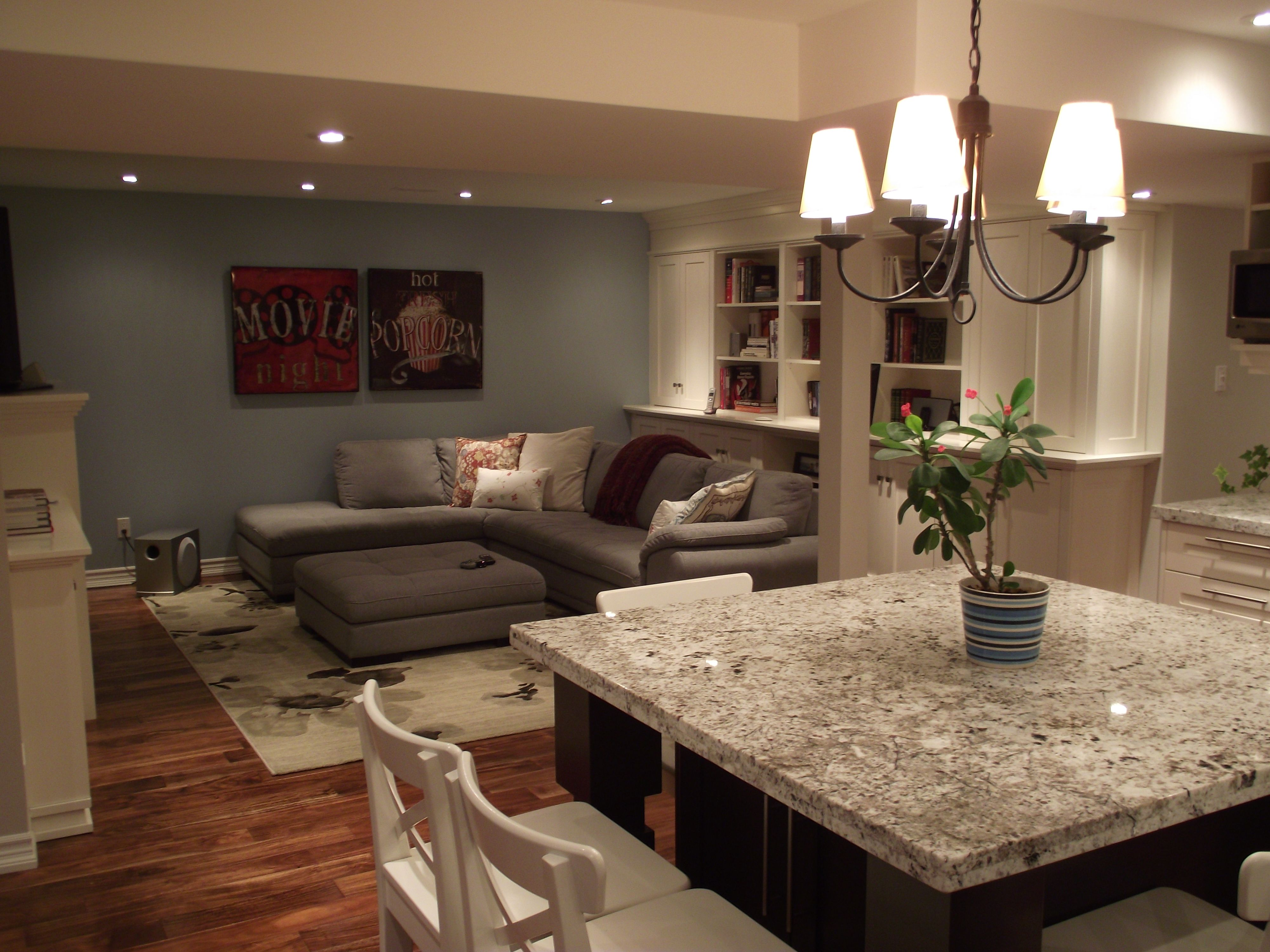 basement family room and kitchenette diy ideas pinterest