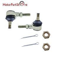 M10 Tie Rod End Kit for Yamaha Raptor 660 YFM660 YFM660R 2001 02 03 04 2005 Motorcycle ATV Quad Dirt Bike #