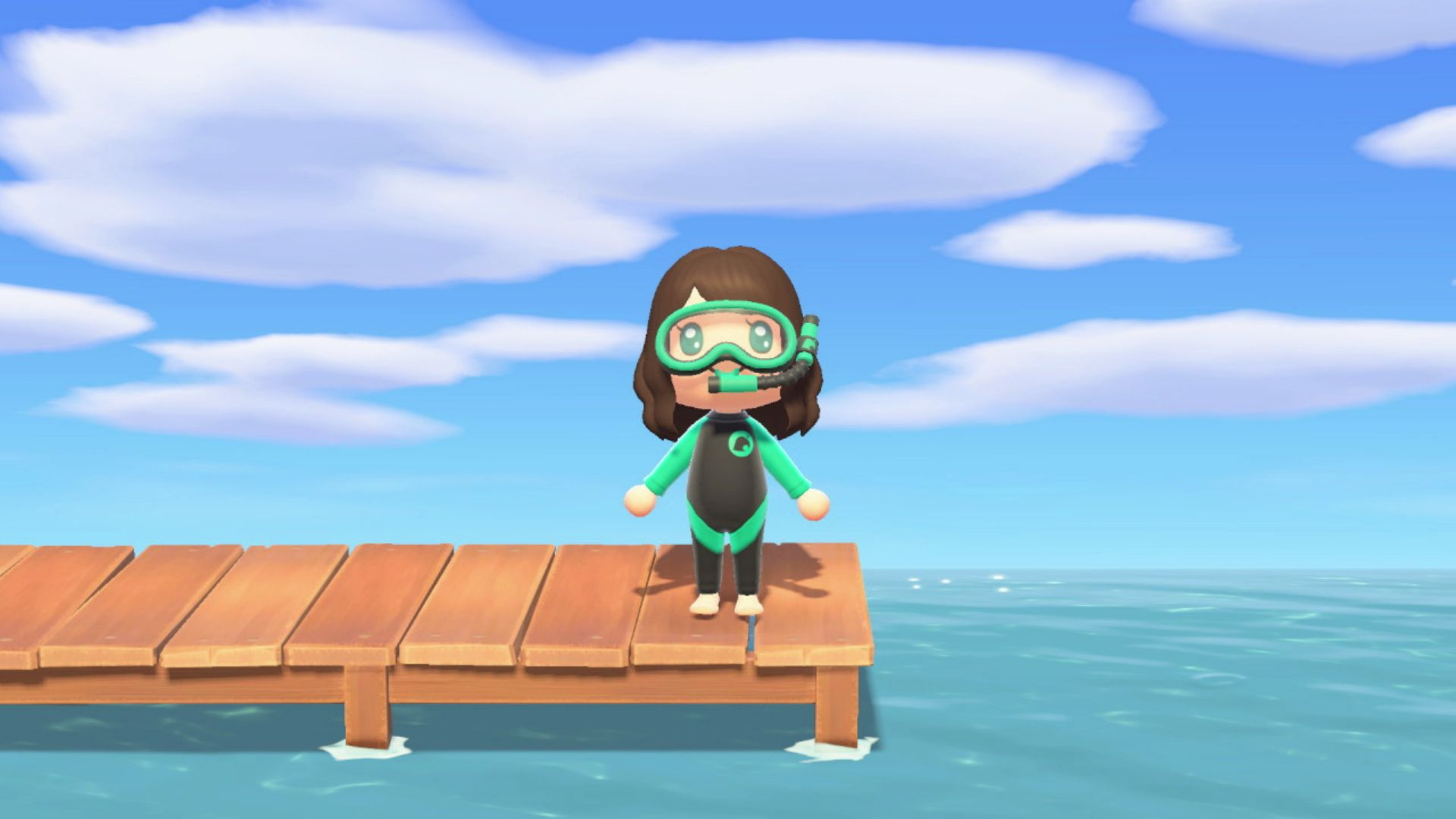 Animal Crossing New Horizons How To Get The Nook Inc Snorkel And Wet Suit Animal Crossing Animals Snorkeling