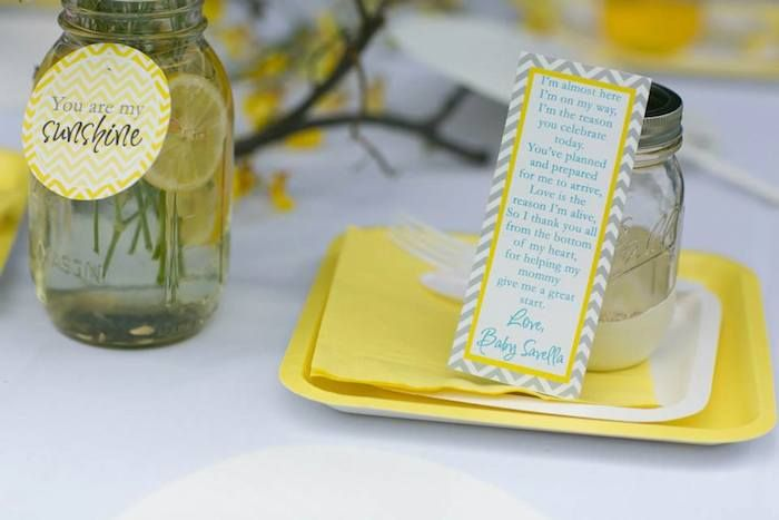 Baby Shower Ideas You Are My Sunshine ~ You are my sunshine themed baby shower via karas party ideas