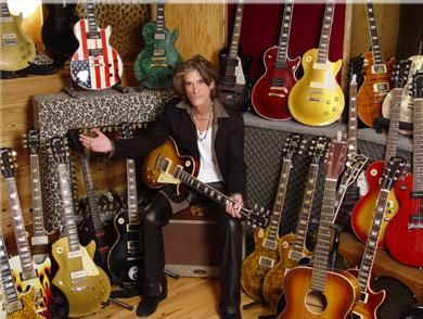 Joe Perry lost track of which guitar makes good music. Let's help him find it!