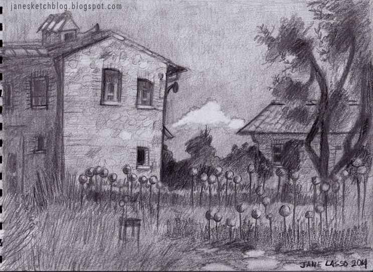 Dibujo 9 Paisaje Dibujos Y Sketches De Jane Lasso Paisaje A Lapiz Produccion Artistica Paisajes Dibujos