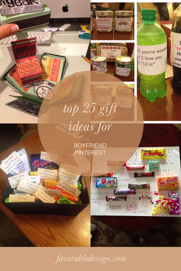Top 25 Gift Ideas For Boyfriend Pinterest 25th Gifts Gifts Boyfriend Birthday