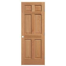 Masonite Clics Solid Core Oak Single Prehung Interior Door Common 36 In X 80 Actual 37 5 81 743671