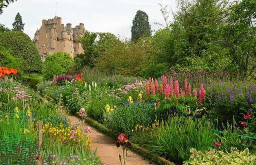 Crathes castle banchory aberdeenshire scotland for Pflanzengestaltung garten