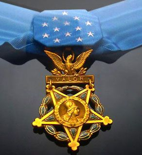 The Medal of Honor is the nation's highest medal for valor