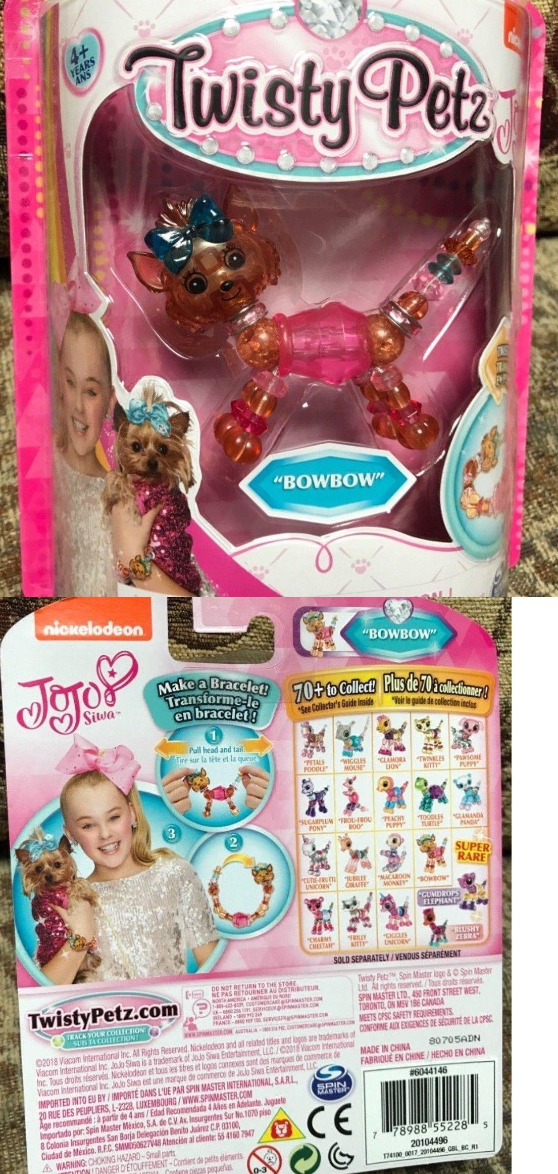 Action Figures Twisty Petz Pets Super Rare Jojo Siwa Bow Bowbow Transform Pet To Bracelet Rare Clothing, Shoes & Accessories