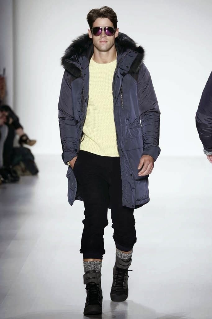 Black Sail by Nautica Fall/Winter 2014 - New York Fashion Week #NYFW | Male Fashion Trends