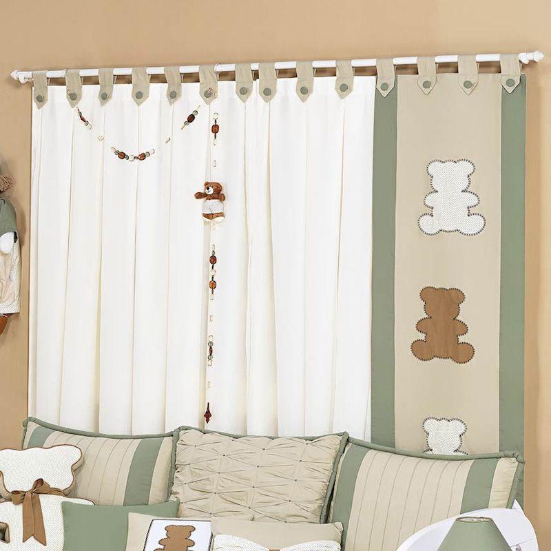 Cortina y panel para bebes cortinas infantiles pinterest cortinas panel y para bebes - Cortinas habitacion bebe nina ...
