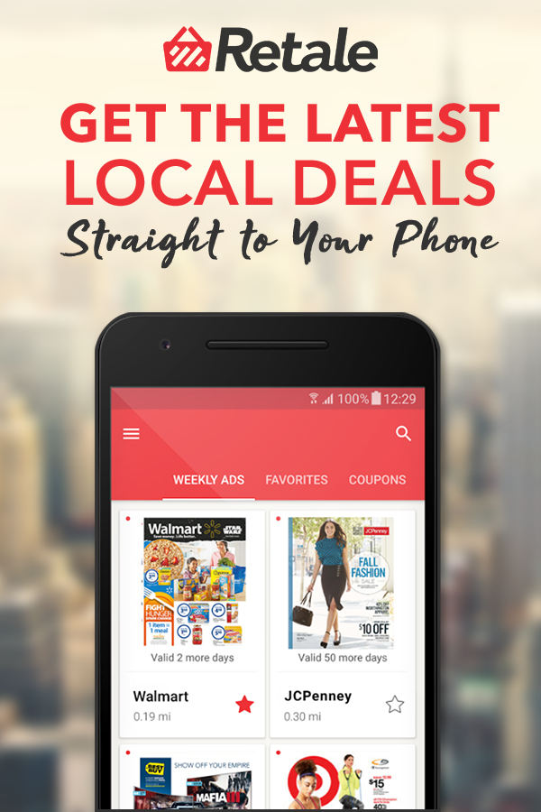 Retale gives shoppers everything they need to locate deals