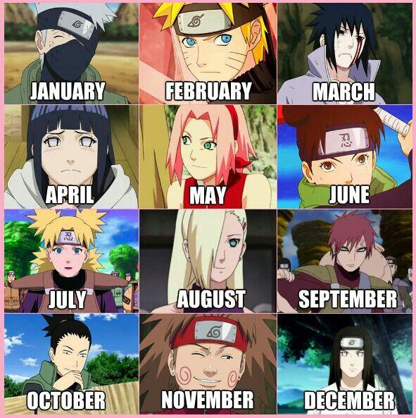 Bday Game Ninja Anime Naruto Manga Naruto Desenho