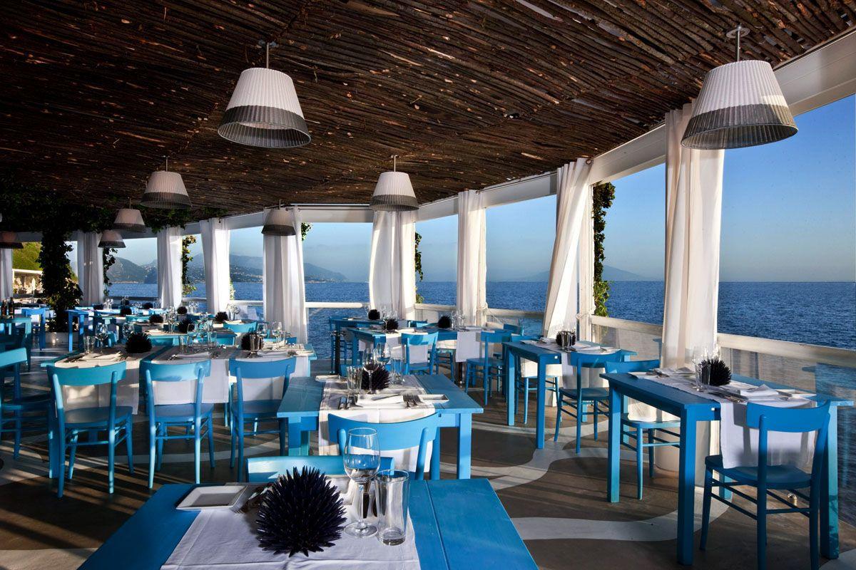Il Riccio Restaurant & Beach Club - Capri Palace, Anacapri | Sea ...