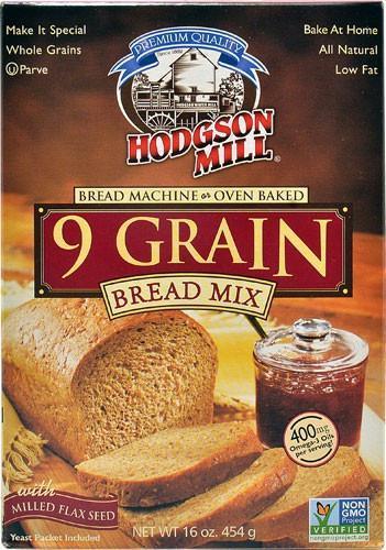 Hodgson Mill: Bread Mix 9 Grain, 16 Oz   Bread mix ...