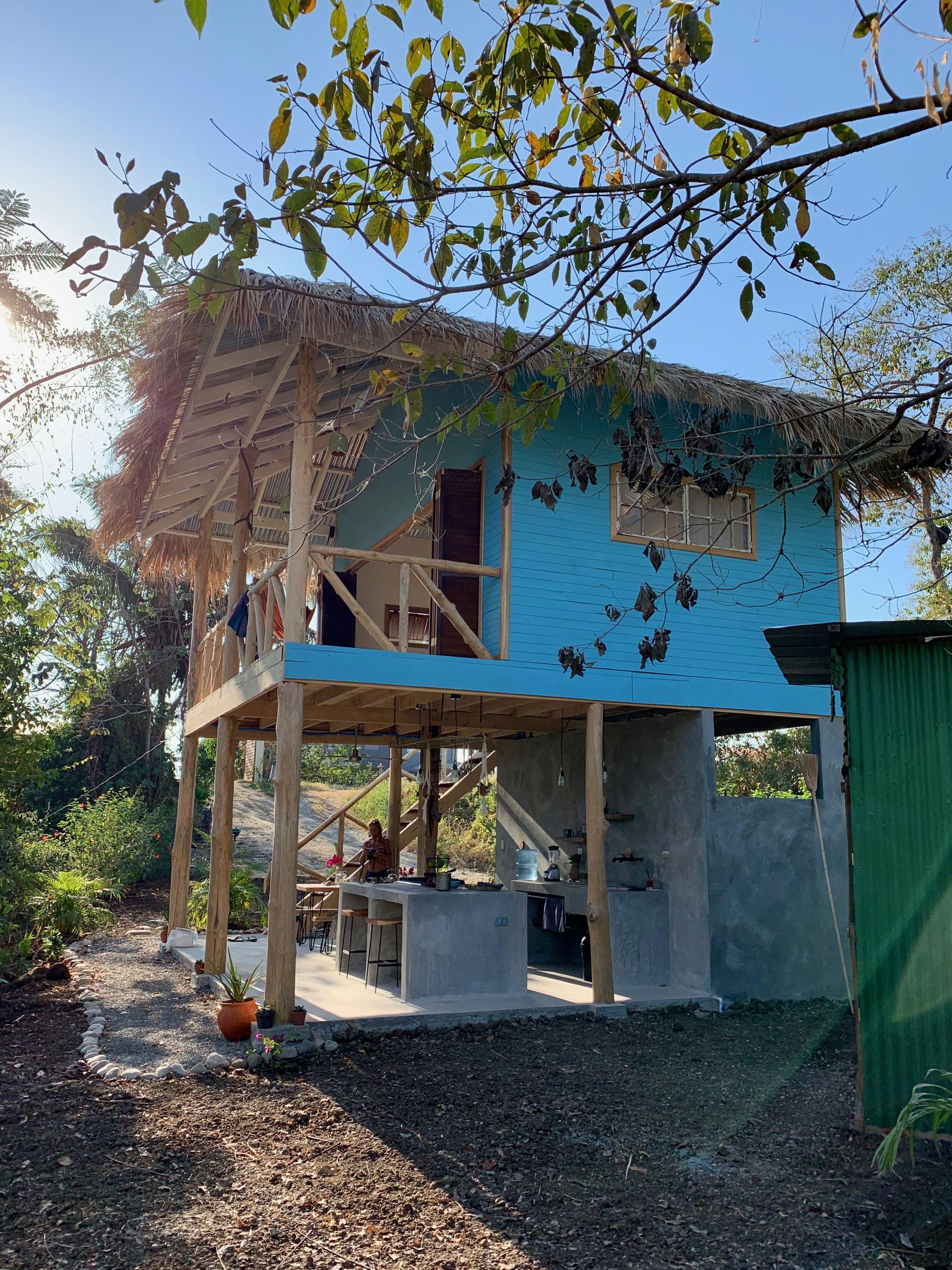 Pin By ត ក ត ម ត ត On Mini House Bamboo House Design