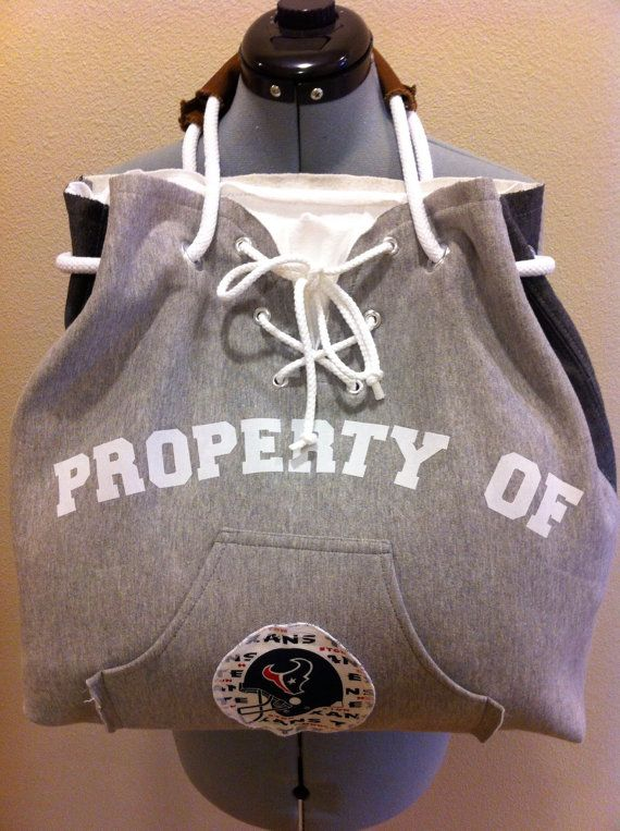 Hooded Sweatshirt Purse Projects Diy Clothes