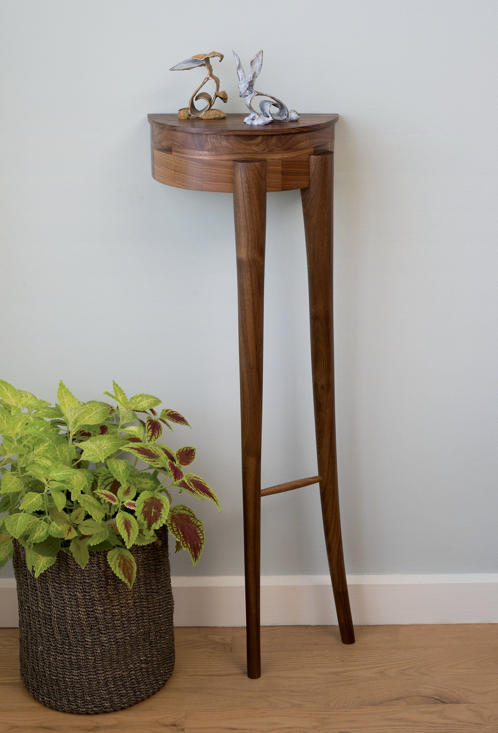 An Accent Table Suitable To Recline On Your Wall Offering A Usable Surface Two Legged Fossil By Matt Hutton Wood Side Available At