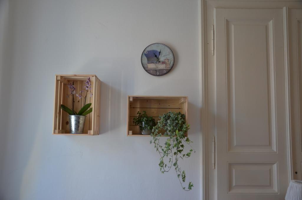diy regal holzkisten regale fa 1 4 r zimmerpflanzen regalos para navidad look