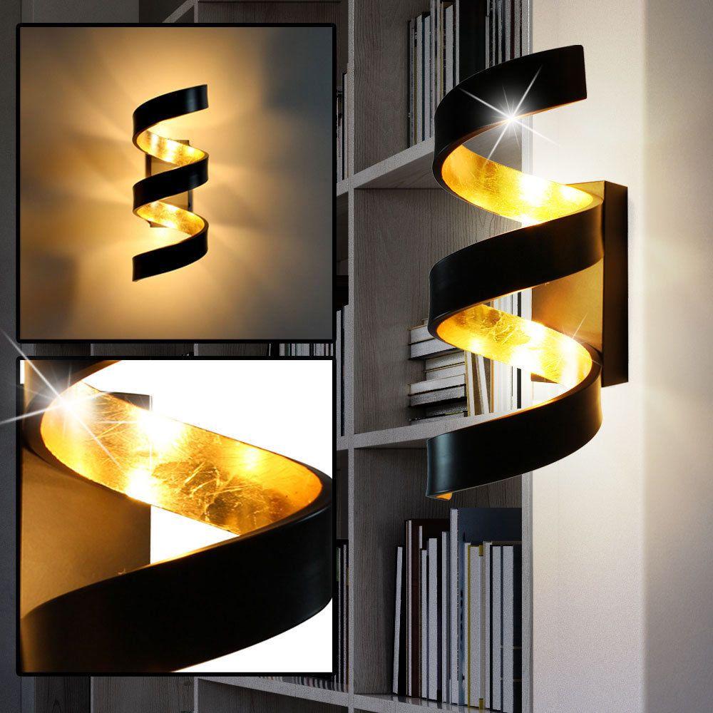 Details Zu Cob Led Wand Leuchte Schwarz Wohn Zimmer Beleuchtung