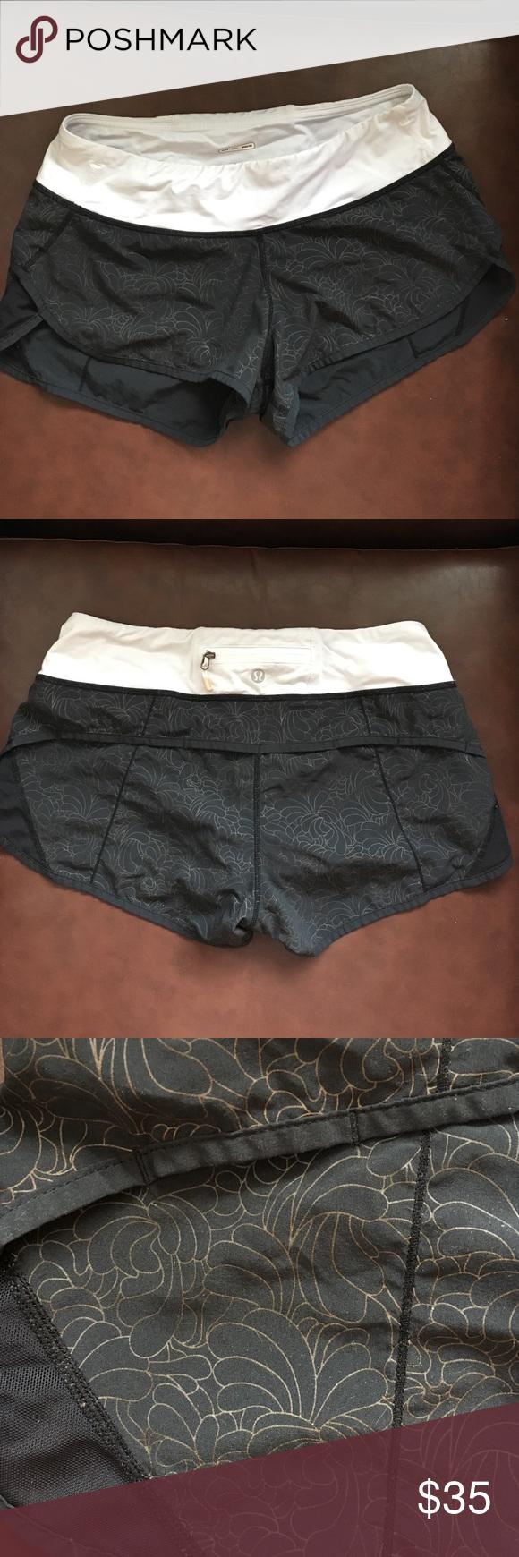 Lululemon shorts Floral pattern lululemon athletica Shorts