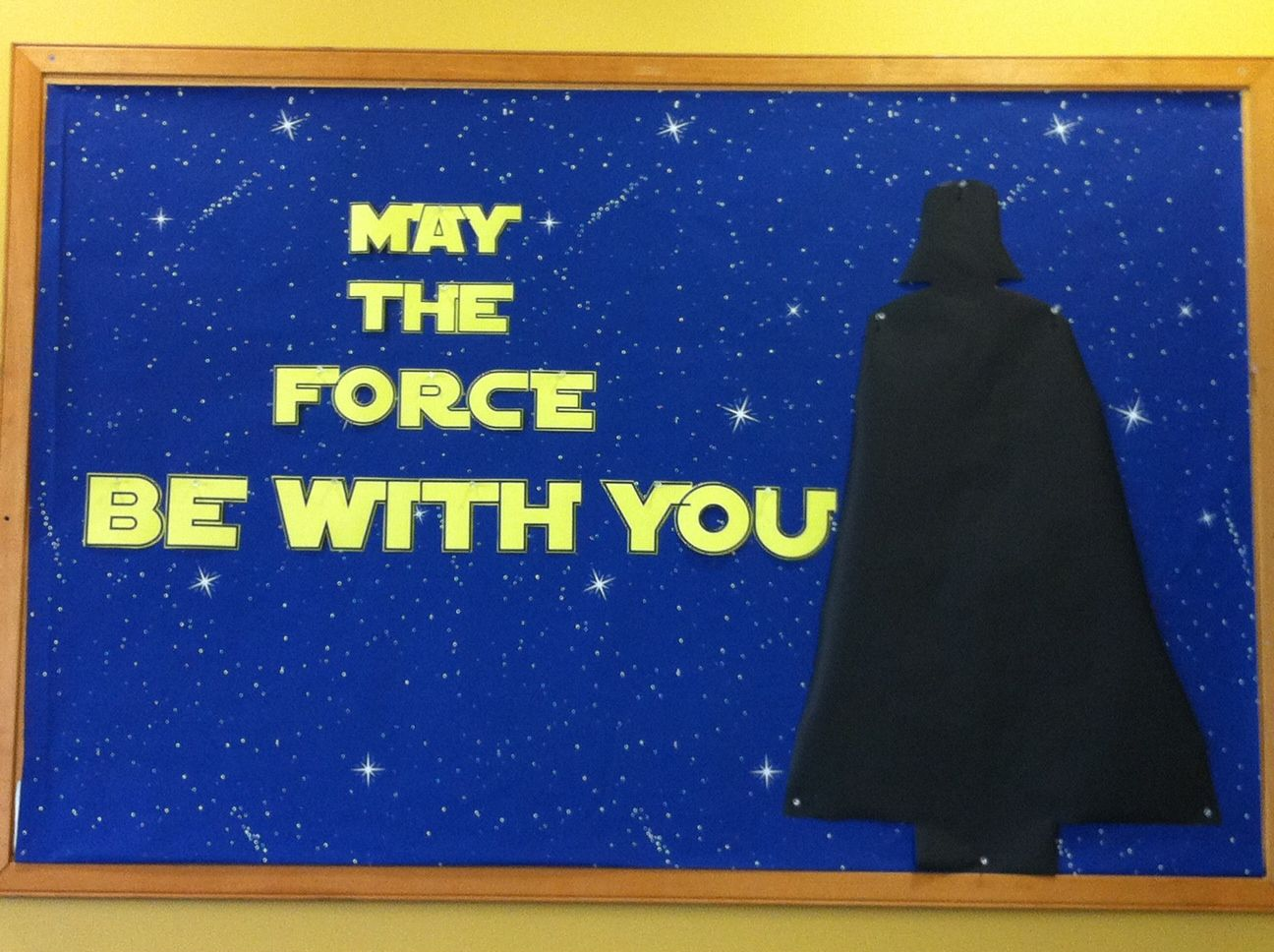 Be with may the you force