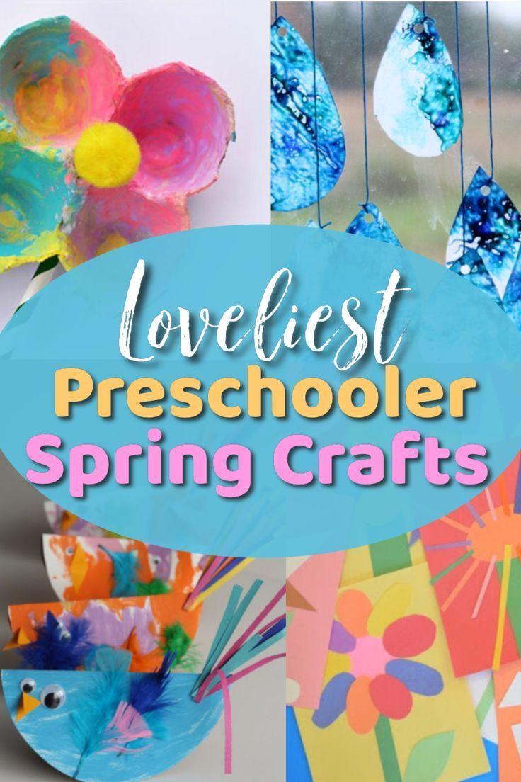 The Loveliest Spring Activities for Preschoolers!   Crafts ...