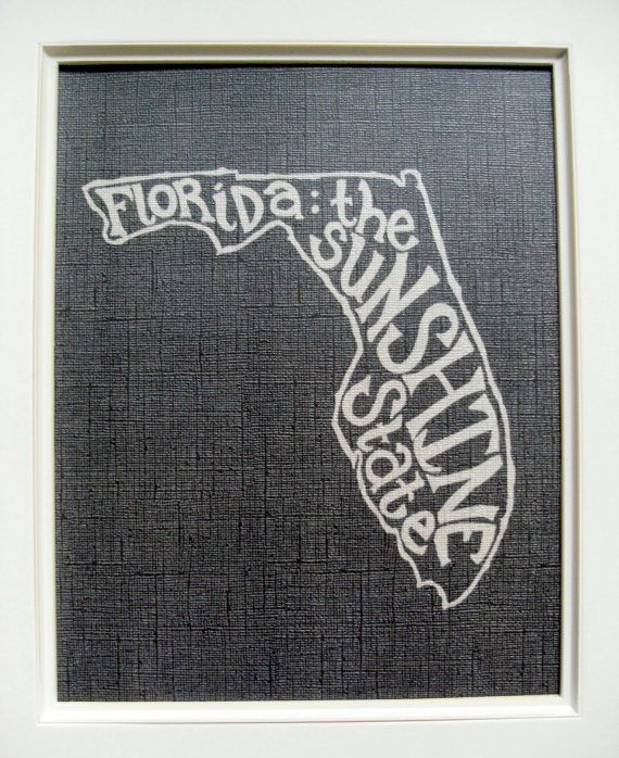 Need to pick this up - Florida