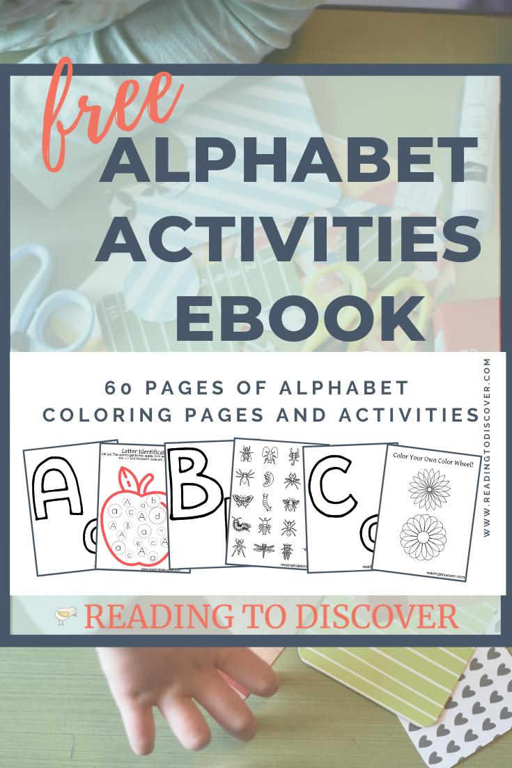 Alphabet Activities Ebook Alphabet Activities Alphabet Activities Preschool Learning The Alphabet [ 1102 x 735 Pixel ]