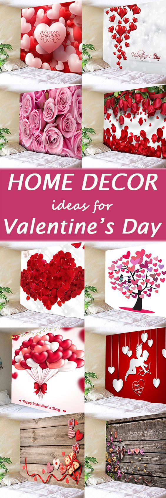 Home decor ideas for Valentine's Day,find the latest wall tapestries at  Dresslily.com