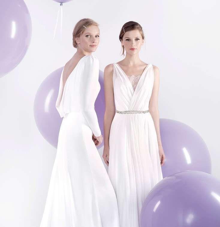 vestidos de novia jesús peiró: mejores modelos [fotos] - vestidos de