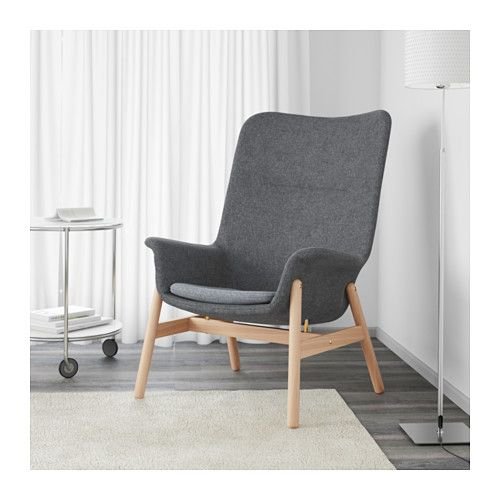VEDBO Sessel mit hoher Rückenlehne, Gunnared dunkelgrau | Ikea L❤VE ...
