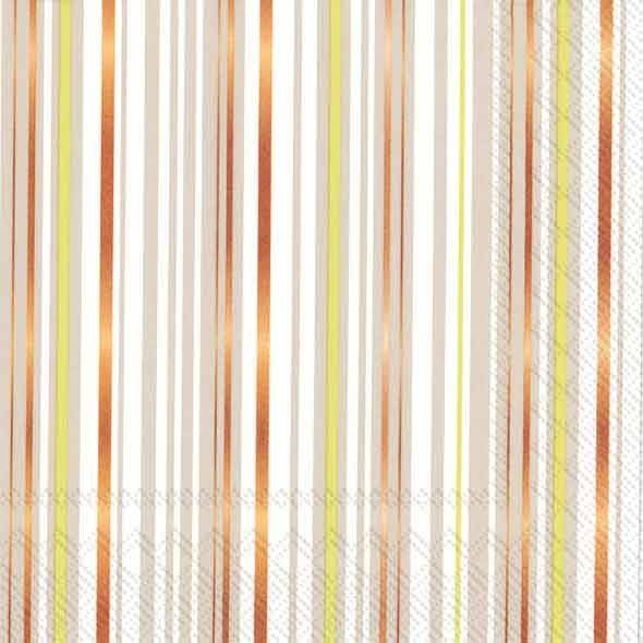 wholesale designer prints and solid color paper and paper linen like wedding and party napkins from caspari ihr and touch of color  sc 1 st  Pinterest & IHR Glitter Stripes linen Striped Printed 3-Ply Paper Luncheon ...