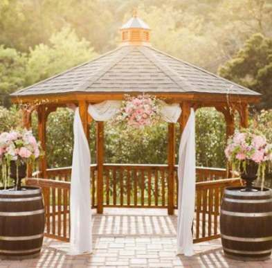 41+ Trendy Wedding Ceremony Decorations Winery Entrance -   13 wedding Ceremony gazebo ideas