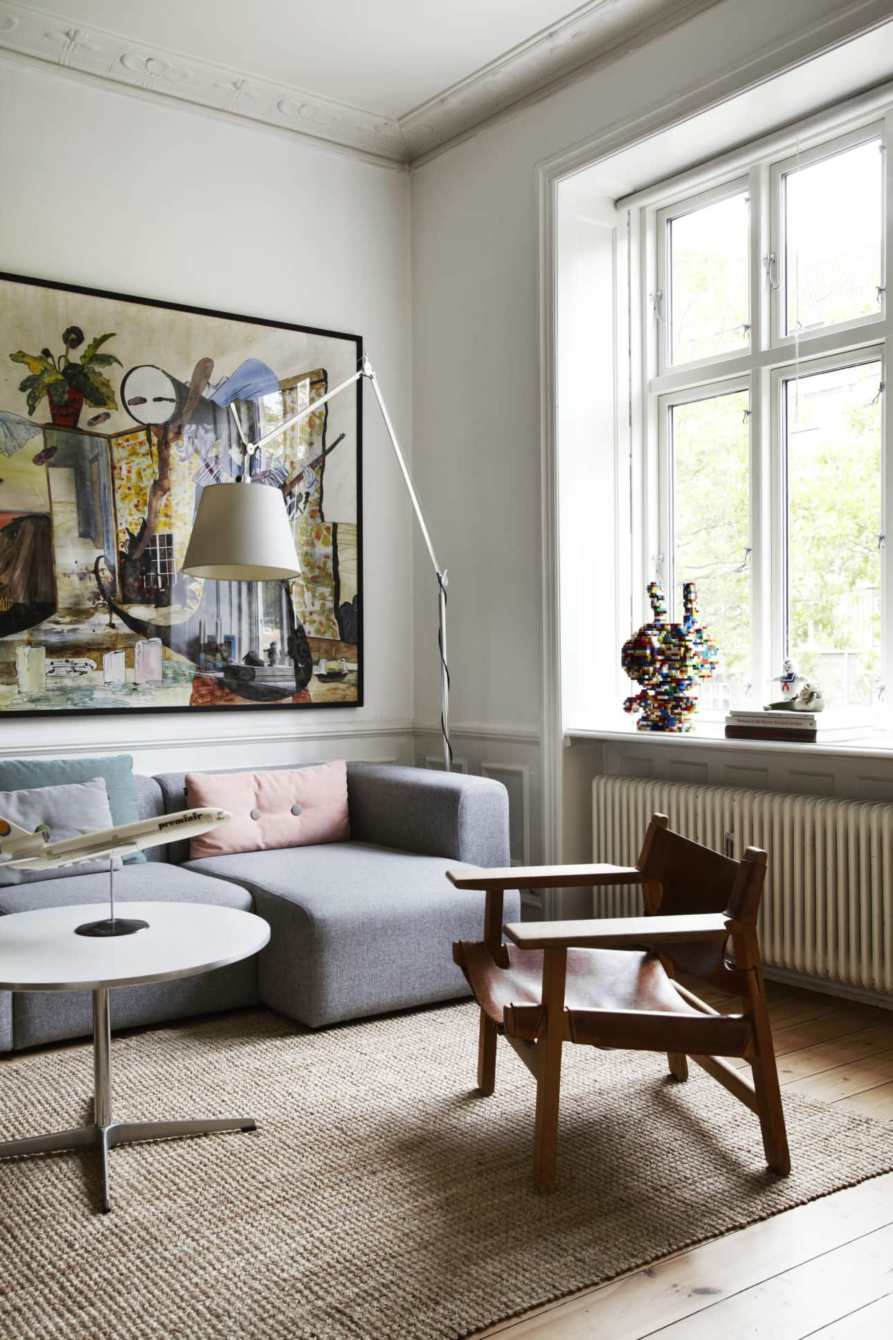 A Scandinavian Design Collector S Playful Classic Contemporary Home In Copenhagen Living Room Scandinavian Scandinavian Furniture Design Scandinavian Furniture
