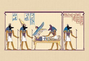 Anubis 28x42 Giclee on Canvas