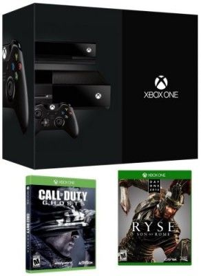 Game Console New Xbox Day One Edition Bundle with an Xbox Day One Edition Console, Call Of Duty Ghosts & Ryse Son of Rome #Game #Console