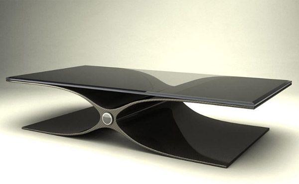 Ascension Carbon Fiber Furniture Carbon Fiber Dining Table