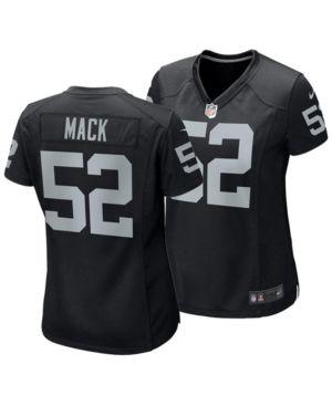 1a4cae66d Nike Women's Khalil Mack Oakland Raiders Game Jersey - Black L ...