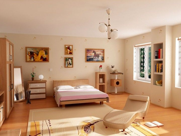 Girls Bedroom Interior Design Ideas Interesting Interiors - Small Room Interior Design