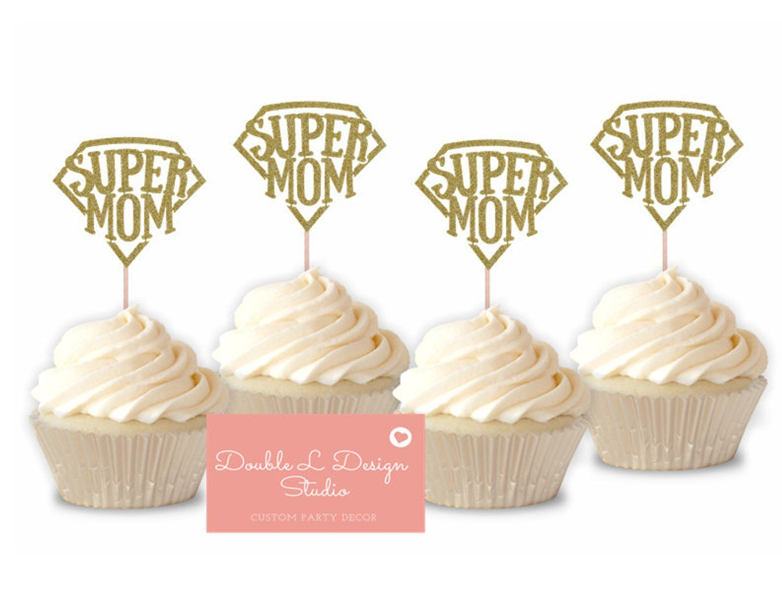 Mothering Sunday Cupcake Wrappers mom Mother Day mum ma mummy 12Pk