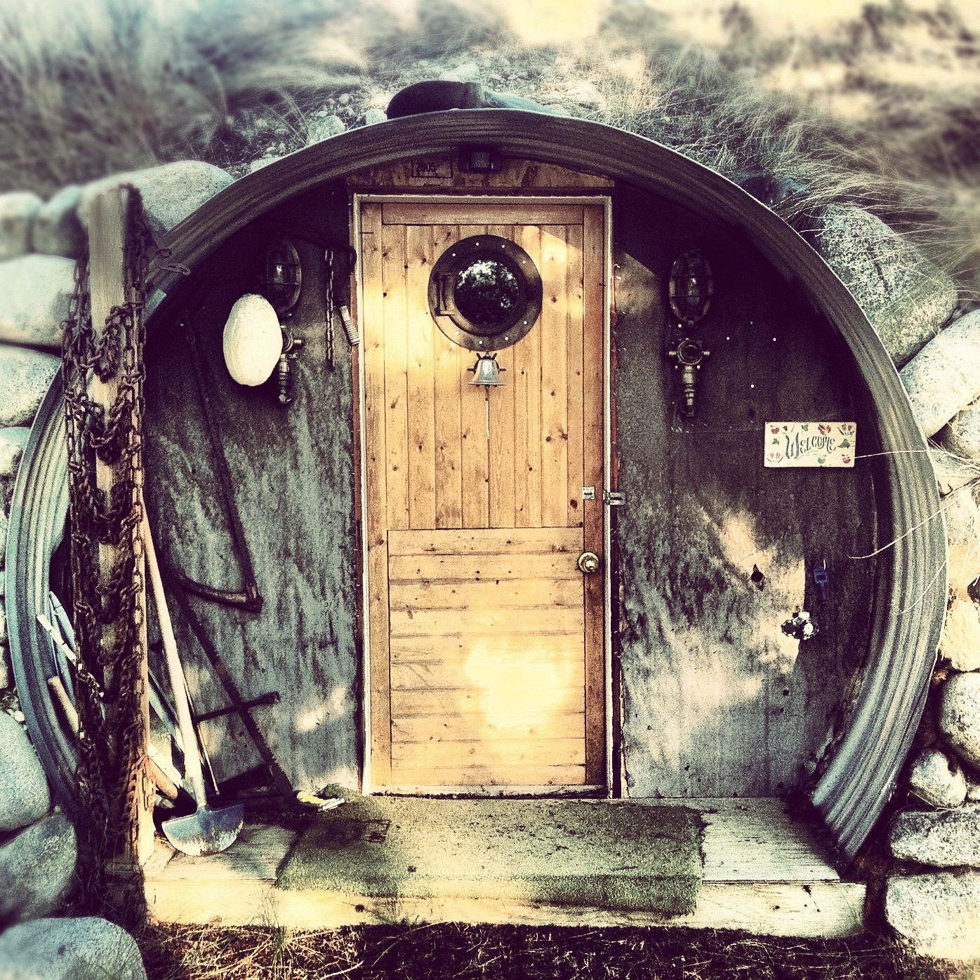 Underground Homes, Earthship Home , Culvert