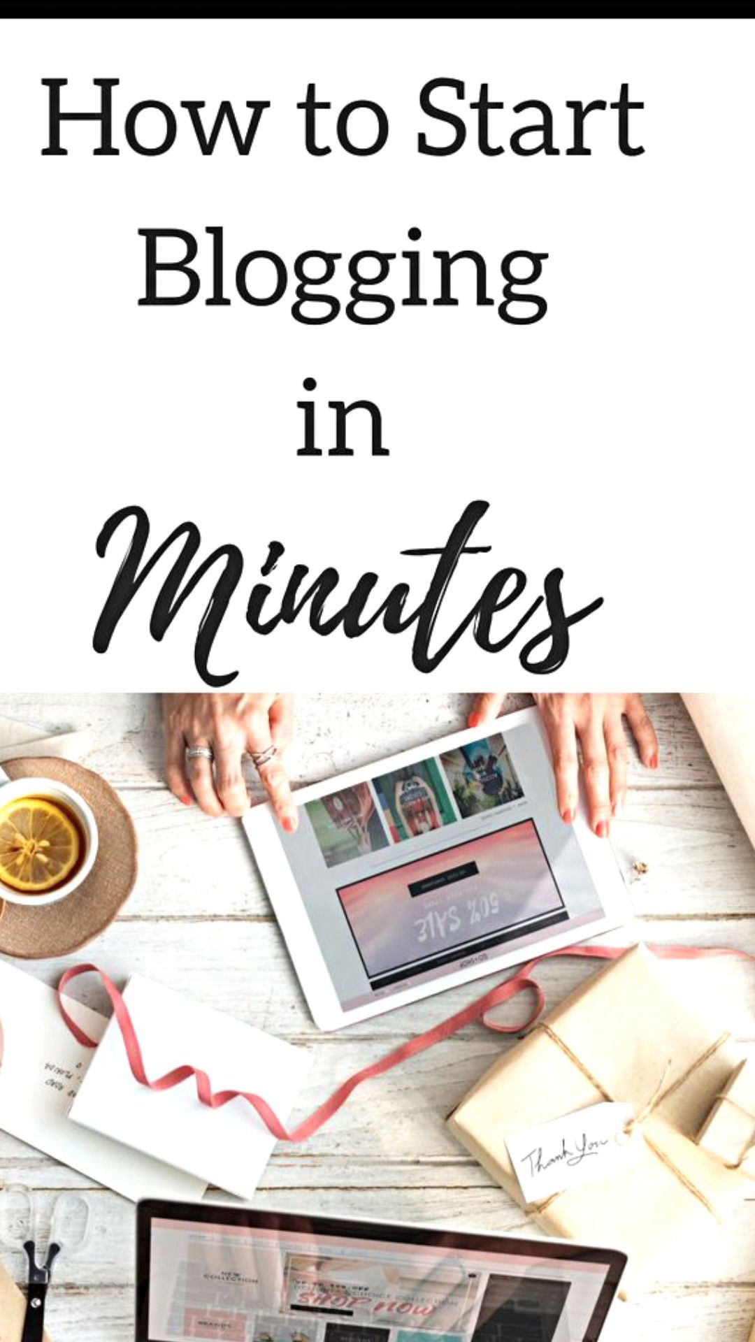 In less than 20 minutes,you can create your own blog and ...
