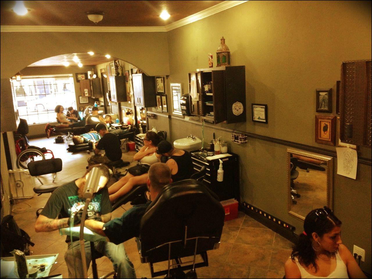Friday afternoon Flying Dutchman Tattoo Studio Antioch